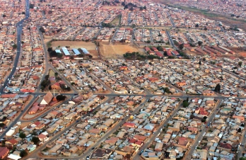 Skyview of Soweto