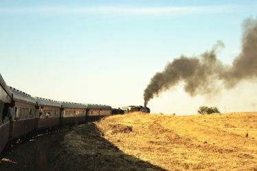 The steam train