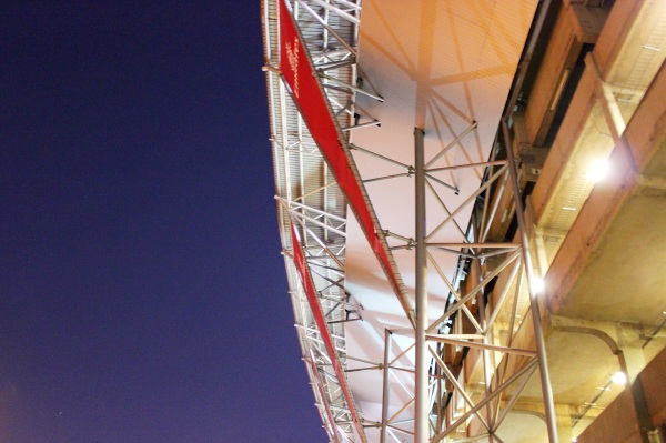 I loved Ellis Park's architecture. Too bad I didn't have a tripod with me to take better night shots.