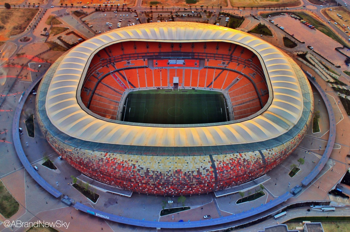 Jozi's landmarks: the FNB Stadium